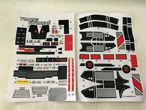 G1-Transformers-JETFIRE-STICKERS-DECALS-Bandai-Japan-1985-Unused-Complete