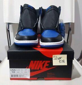 DS Nike Air Jordan 1 Royal Blue Sz 10 2017 100% Authentic I