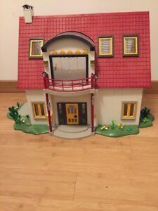 Playmobil Maison Moderne R235 Chaise De Jardin Pliante Bleue 4279 Toys Hobbies Preschool Toys Pretend Play