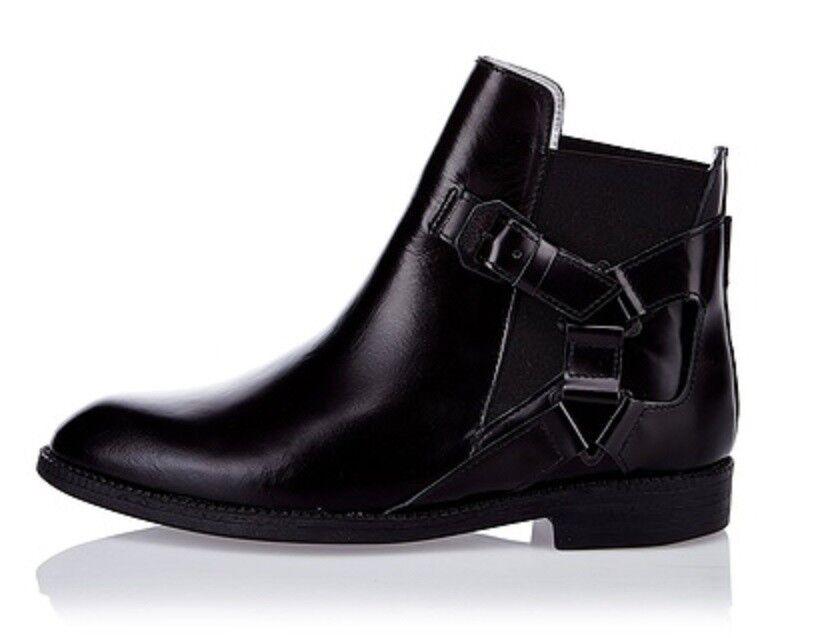 SWEAR Stiefeletten Stiefel, NEU. Gr. 40,   , Echtleder, Fb. schwarz,  | Verschiedene Stile und Stile  | Verschiedene Stile  | Umweltfreundlich