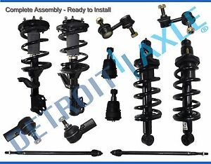 10-Year Warranty- Both 2 Lower Ball Joints Inner /& Outer Tie Rod Complete 8pc Front Suspension Kit 4 2 Sway Bar End Links for 2002 2003 2004 2005 2006 Honda CR-V All