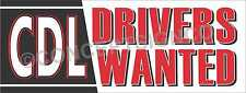 3x8 Cdl Drivers Wanted Banner Outdoor Sign Large Commercial Truck Operators