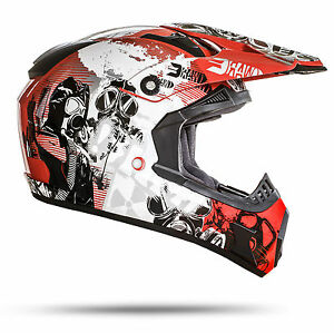 gs nevada motocross helm rot gr e l ece norm motorrad. Black Bedroom Furniture Sets. Home Design Ideas