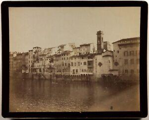 Italia Ville A Identificare Foto Kodak Vintage Albumina c1900