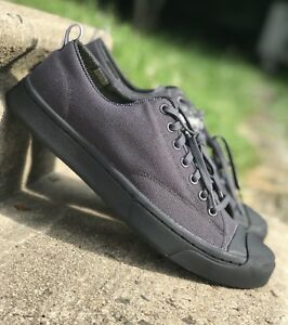 20d734c830ed Converse Jack Purcell JP M-Series OX Black Grey Shoe 153619C w ...