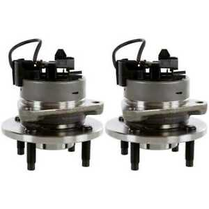 Pair-2-Front-Wheel-Hub-Bearing-Assembly-4-Stud-for-07-10-Pontiac-G5-4-Wheel-ABS