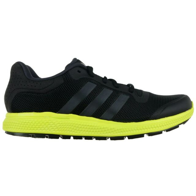 59a35bf88 adidas Energy Bounce M Black Green Mens Jogging Running Shoes ...
