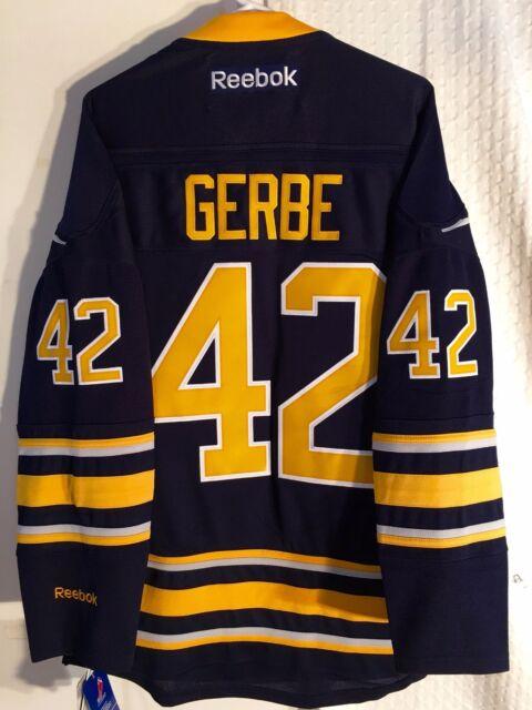 Reebok Premier NHL Jersey Buffalo Sabres Nathan Gerbe Navy Sz M for ... 9e06d01b8