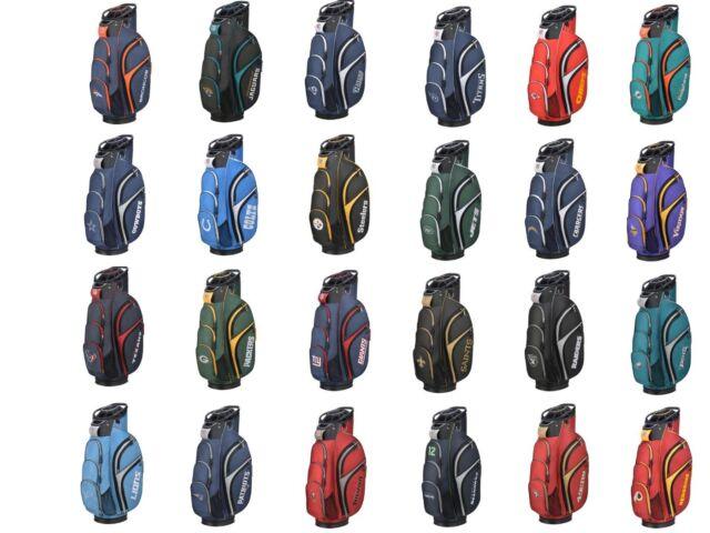 Wilson Staff Golf Nfl Football Cart Bag New For 2018 Pick Your Team Nfc Afc
