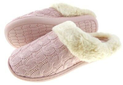 Ladies 21 Cosy Memory Foam Comfort Slip On Slipper Great Present Sizes UK 5-8