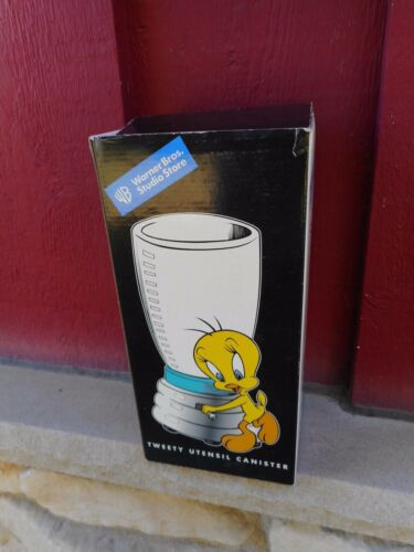 NRFB WARNER BROTHERS Tweety Bird Utensil Holder S9