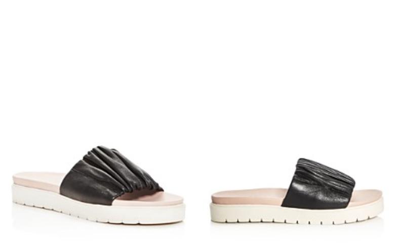 240 Dimensione 8 Daniella Daniella Daniella Lehavi Sahara soft , nero Leather  Slides donna Sandals c0de4f