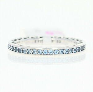 4f1b0ebb8 NEW Authentic Pandora Radiant Hearts of Pandora Ring Ster Blue 52 (6 ...