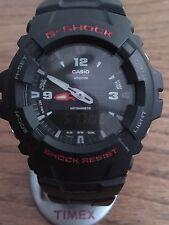 Classic Casio G-Shock Watch G-100   Shock Proof  Men's 5158 Module