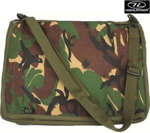 Army Combat Military Map Shoulder Binder Holder Case Waterproof Surplus Camo