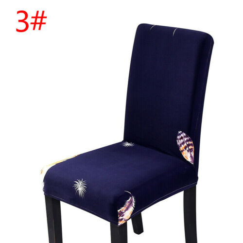 Stretch Spandex Chair Covers Washable Slipcovers Seat Cover Dining Party Decor