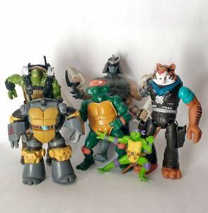 6 Teenage Mutant Ninja Turtles TMNT Lot Tiger Claw Shredder Replacement Parts