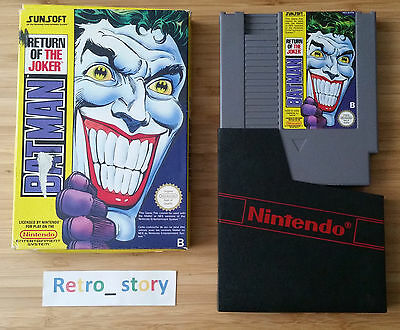 Nintendo NES Batman Return Of The Joker PAL