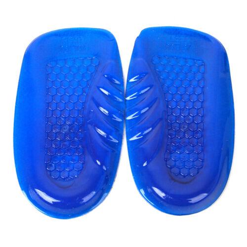 Footful 1 Paar Gel Fersenschalen Pad Unterstützung Orthesen Einlegesohle