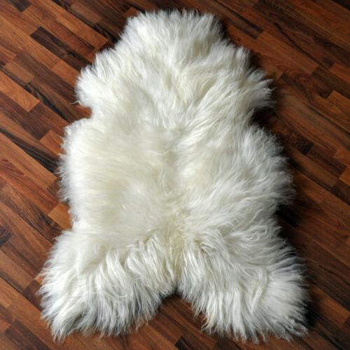XL ÖKO Island Schaffell Lammfell Schaf sheep natur-weiss 110-120cm x 70-80cm