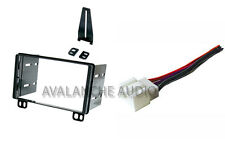 Ford Mustang Explorer Double DIN Car Stereo Radio Dash Install Kit Wire Harness