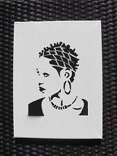 Stencil auf Leinwand Graffiti Street Art Bild Pochoir 4