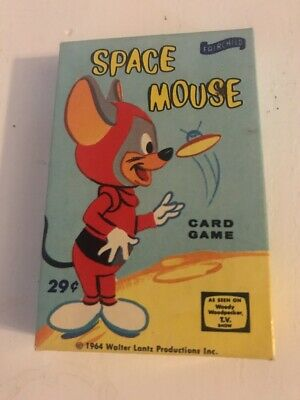 Space Mouse Fairchild Card Game Vintage 1964 Walter Lance Cartoon Atomic Age Ebay