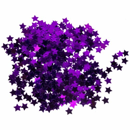 Anniversaire anniversaire mariage célébration étoiles Table Confettis Star-Violet 14 g