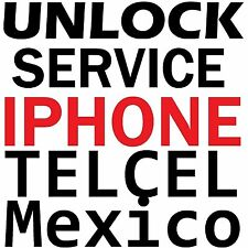 Telcel Mexico iPhone Premium Unlock Service 6S+ 6S 6 6+ 5S 5C 5 4S 4 3GS 3G Code