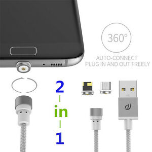 WSKEN-Round-Magnetic-Micro-USB-Magnetic-Charge-Cable-For-iPhone-amp-Samsung