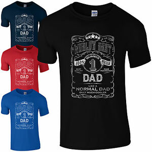 6fbe757b World's Best Dad T-Shirt Gifts for Dads Fathers Day Present No.1 ...