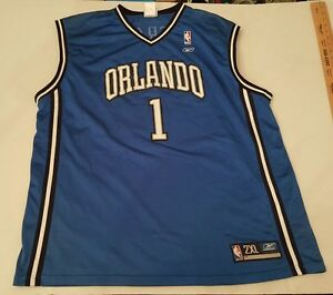 b08e2484b51 Image is loading Orlando-Magic-Tracy-McGrady-1-Basketball-NBA-Authentic-