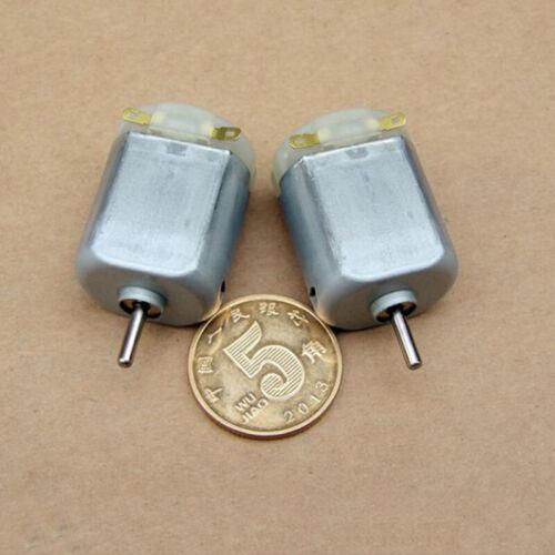 DC 6V-12V 31700 tr//min haute vitesse magnétiques puissants mini DC motor À faire soi-même RC jouet SLOT CAR