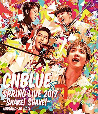 CNBLUE [SPRING LIVE 2017 -Shake! Shake!- @OSAKAJO HALL] Japan Concert Blu-ray