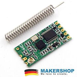 RFM69HCW HopeRF 868MHz 868 MHz Funk Modul ISM Transceiver FSK SPI Arduino