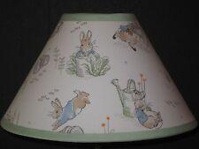 Beatrix Potter Peter Rabbit Fabric Nursery Lamp Shade M2M Pottery Barn Kids