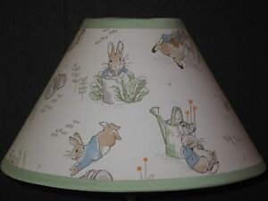 Beatrix Potter Peter Rabbit Fabric Nursery Lamp Shade M2m