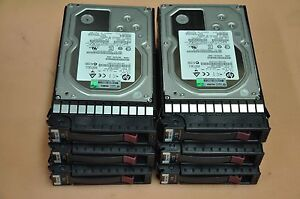 Lot-of-10-HP-3TB-6G-DP-7-2K-SAS-MDL-Hot-Plug-Hard-Drive-625031-B21-625140-001
