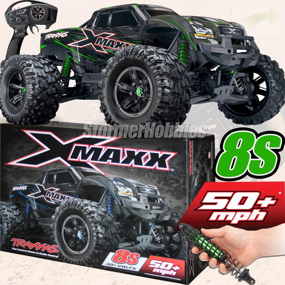 New Traxxas X Maxx 4wd Vxl 8s Brushless Rtr Monster Truck