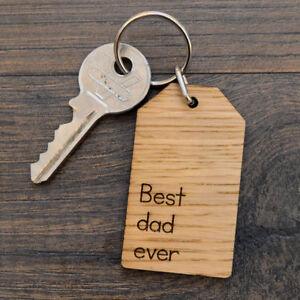 Grandad/'s Keys Keyring Gift Birthday Christmas Fathers Day Keychain Kids Present
