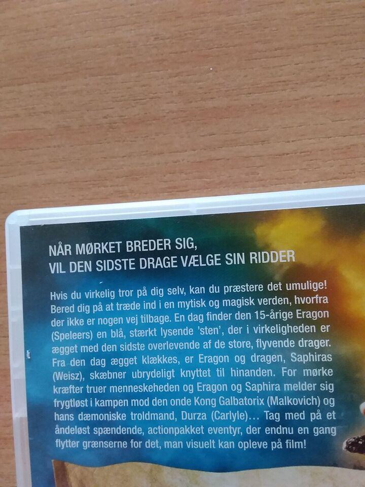 Eragon 2 Disk Special edition, DVD, andet