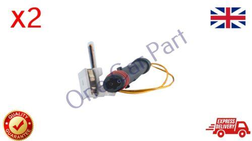 2 Brake Pad Wear Indicator Sensors Front Rear Fits Mercedes A B C E S Class