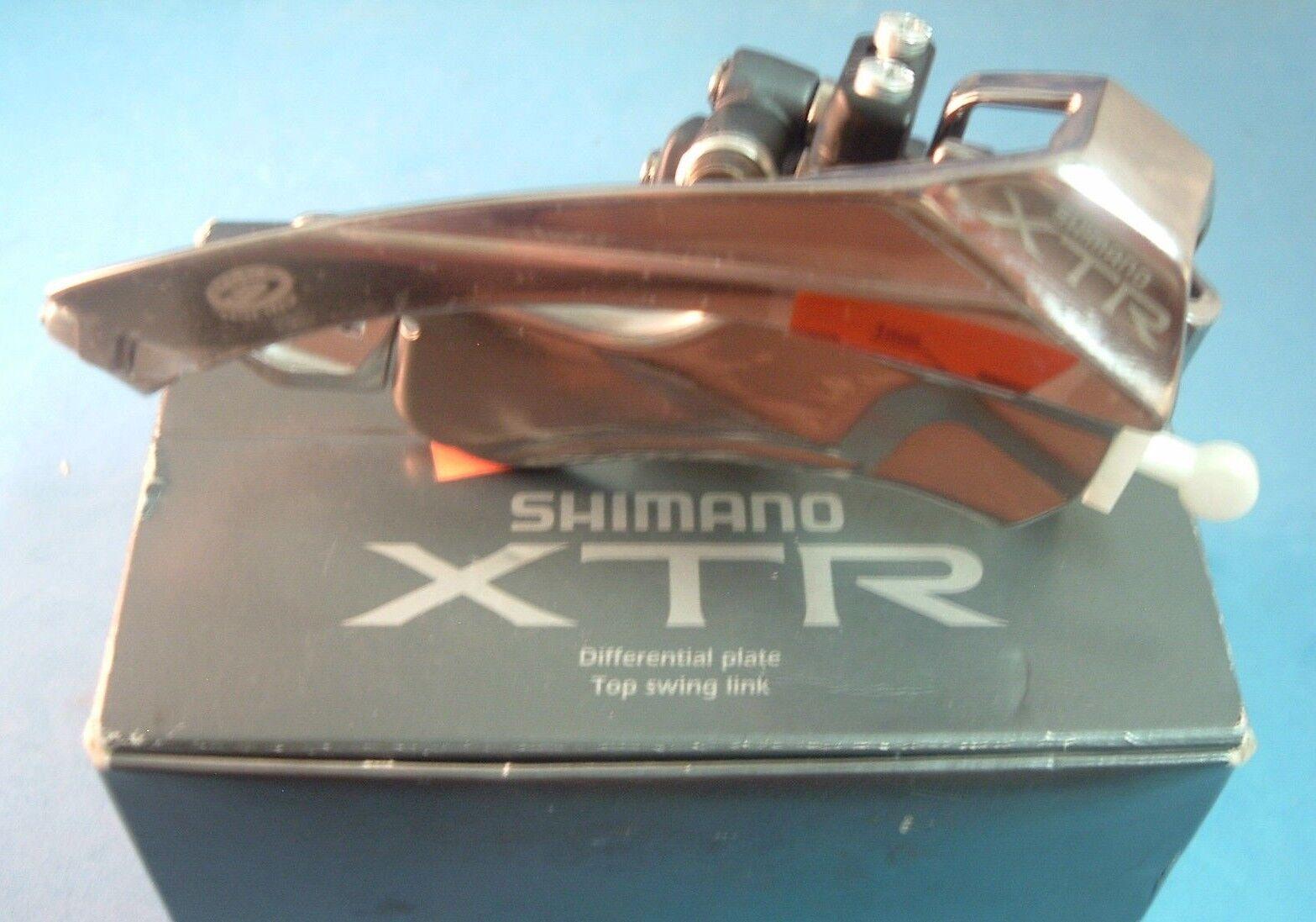 Shimano Xtr M952 Nuevo   Nos MTB Frontal DesCocherilador Vintage-28.6mm-bp   Ts- 8