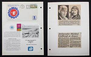 US-Cover-Big-E-Newspaper-Lindberg-at-Airport-Rural-America-Letter-I-5643