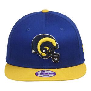 87fe3aae Details about New Era 9fifty Bay Cik St Louis Rams Snapback Flat Peak Hat  Cap