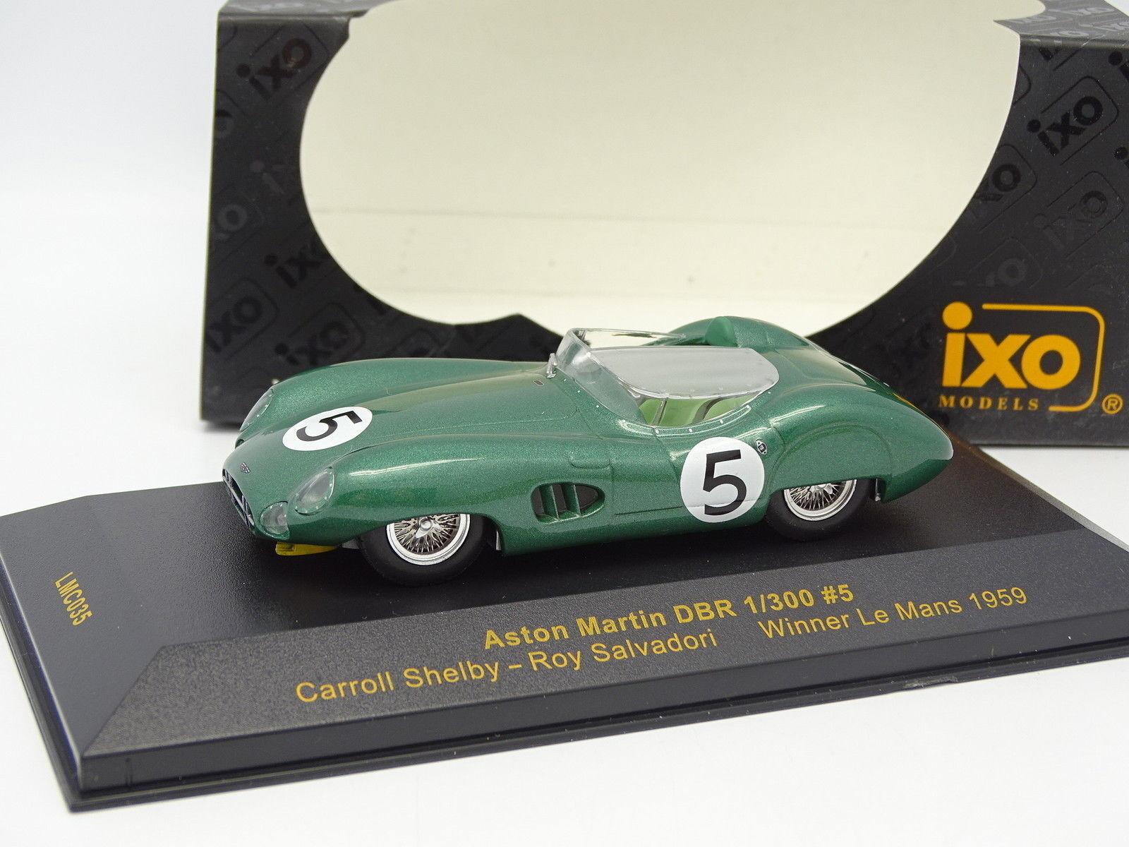 Ixo 1 43 - Aston Martin DBR1 300 Winner Le Mans 1959 N°5
