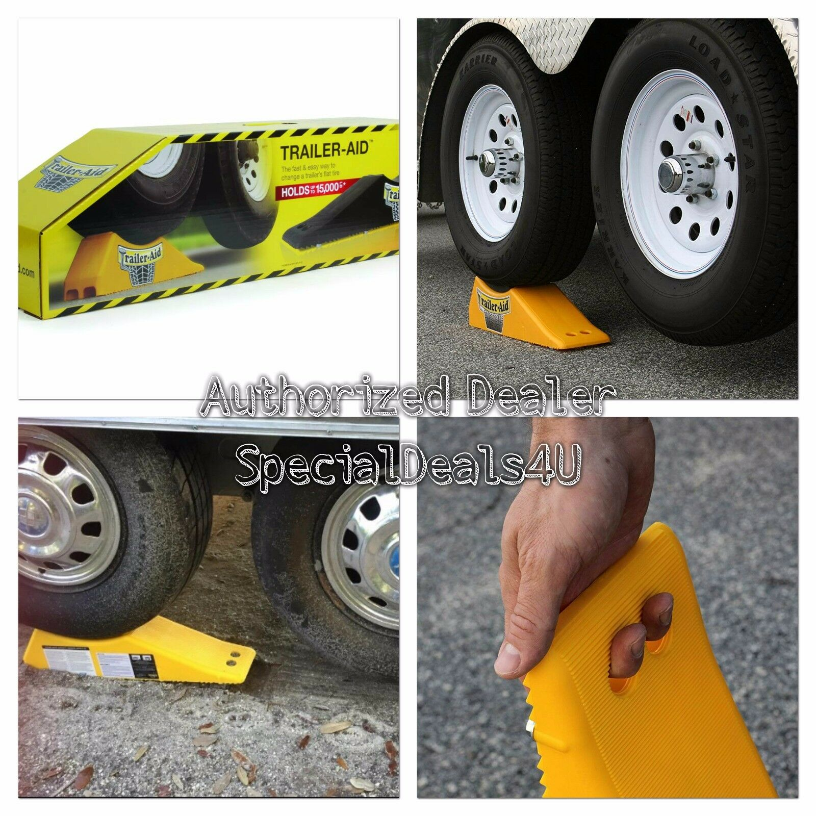 Camco Trailer Aid Tandem Tire Changing Ramp Camper Rv 5th Wheel Cargo Flat For Sale Online Ebay