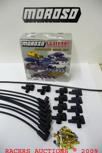 Moroso-8mm-Black-Cut-to-Fit-Universal-Plug-Wires-90-Degree-Boots-HEI-or-Socket
