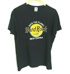 Vintage Hard Rock Cafe Gran Canaria Cotton T Shirt Size S Ebay