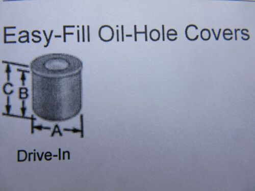 3//8 New GITS BROS Easy Fill Oil Hole Cover Lathe Hit Miss Magneto USA Made